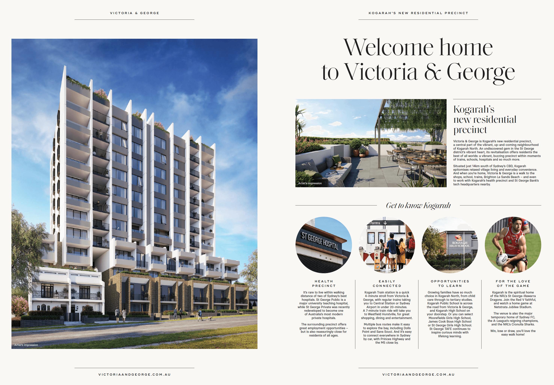Victoria & George brochure